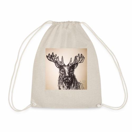 deer crown - Turnbeutel