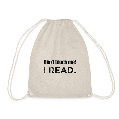 0077 readers | Book lovers | Bookrebels | Naughty - Drawstring Bag