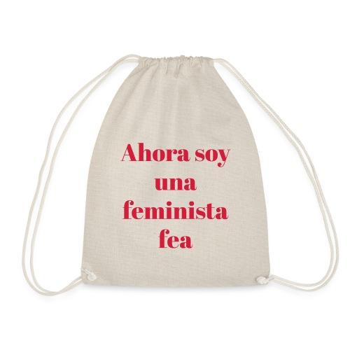 FEMINISTA FEA - Mochila saco