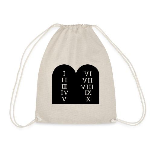 Decalogue - Drawstring Bag