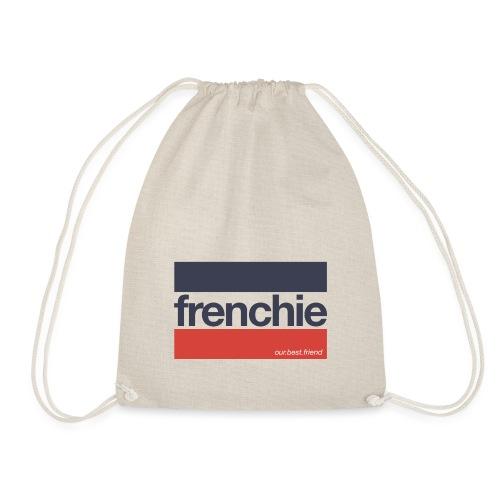Frenchie Stripes - Französische Bulldogge - Turnbeutel