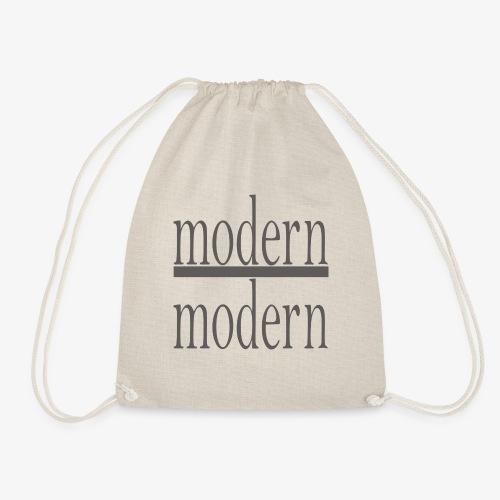 ➤ Modern Modern - 100% Qualität und Style - Turnbeutel
