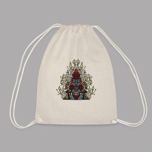 shroomy man - Drawstring Bag