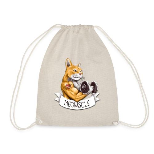 Meowscle - Drawstring Bag