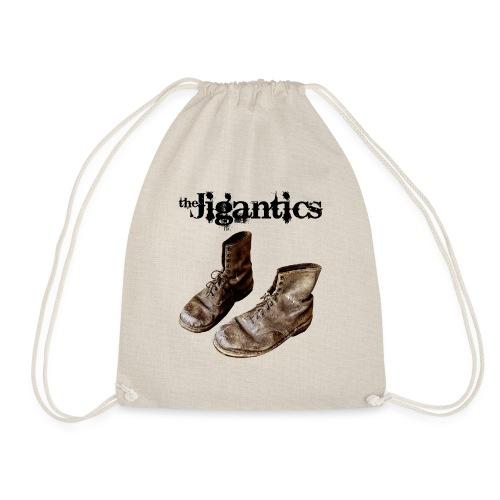 The Jigantics boot logo - black - Drawstring Bag