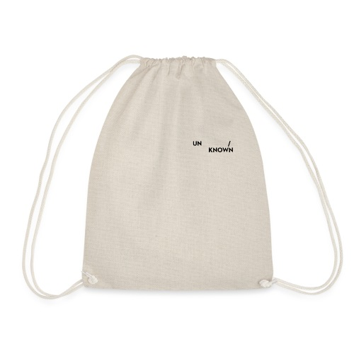 TSCHNIK | Known/Unknown - Drawstring Bag