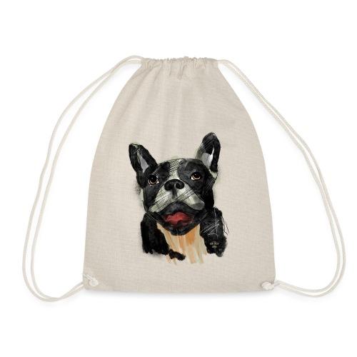 French Bulldog Portrait - lebendig und urban - Turnbeutel