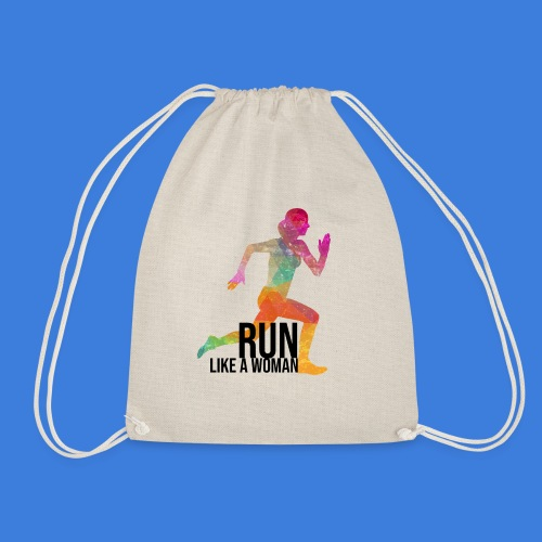 Run like a woman - Turnbeutel