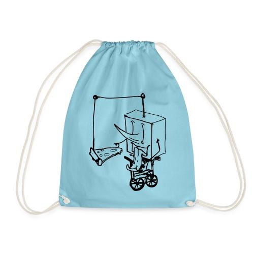 dude food - Drawstring Bag