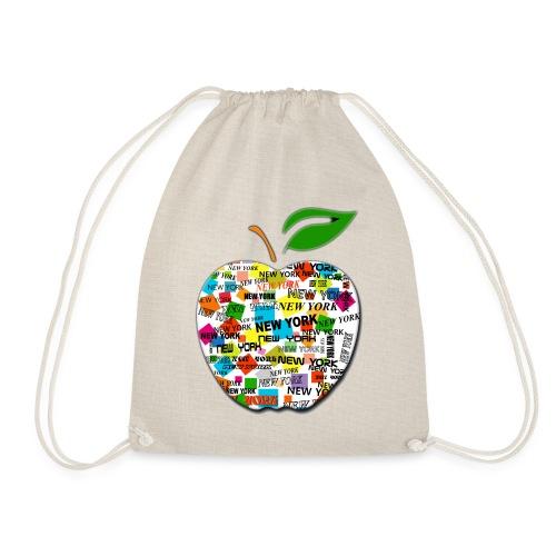ny apple - Sacca sportiva