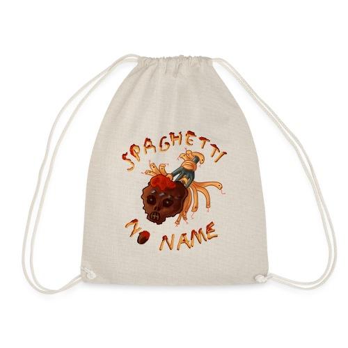 Spaghetti No Name pin - Drawstring Bag