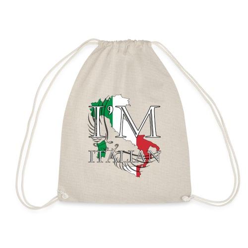 I am Italian - Sacca sportiva