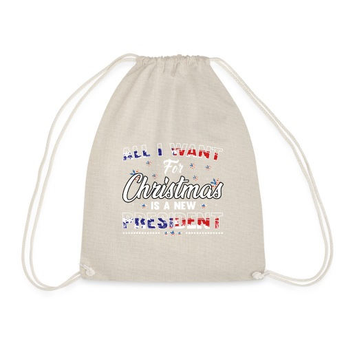 A NEW PRESIDENT 01 - Drawstring Bag