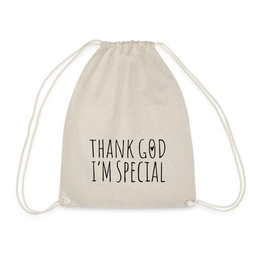 THANK GOD IM SPECIAL - Turnbeutel