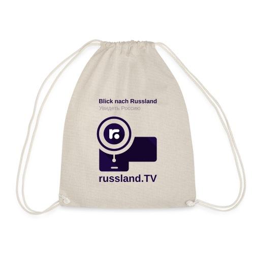 russland.TV Kameraleute-Outfit - Drawstring Bag