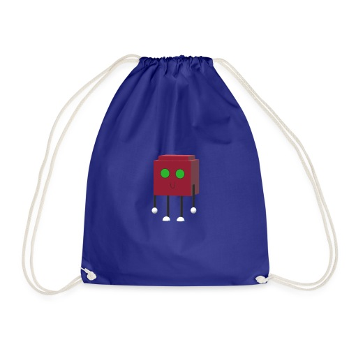 Emily - Charlotte in Multilink World - Drawstring Bag