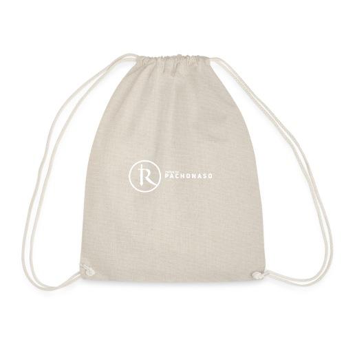 merch white - Drawstring Bag