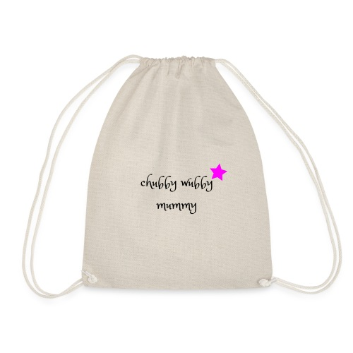 Chubby wubby Mummy - Drawstring Bag
