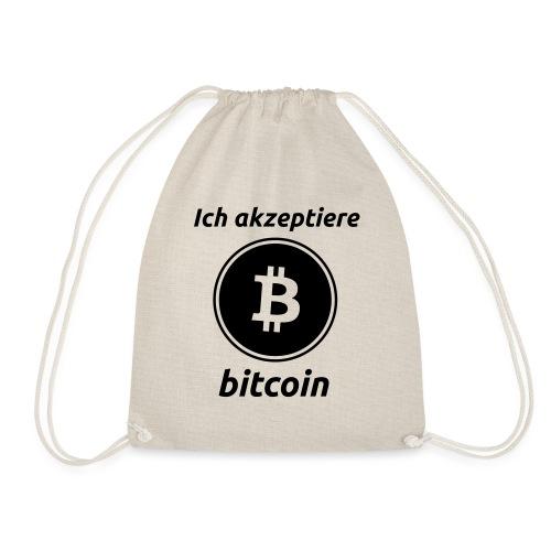 Ich akzeptiere Bitcoin - Turnbeutel