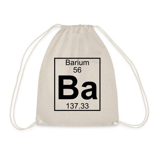 Barium (Ba) (element 56) - Drawstring Bag