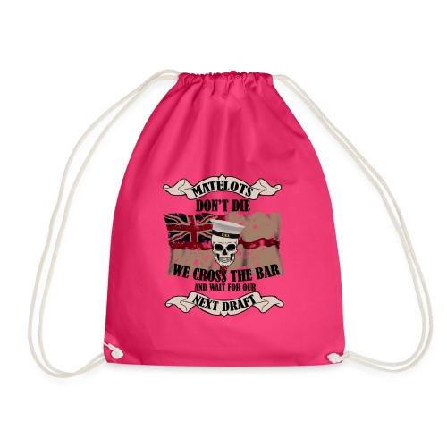Cross the Bar2 - Drawstring Bag