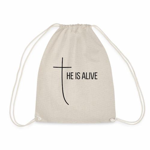 He is alive - Turnbeutel