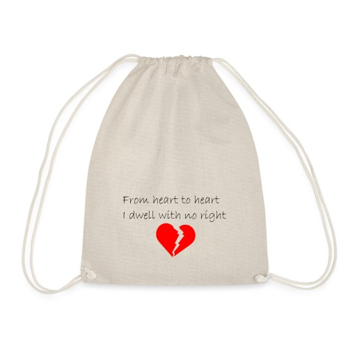 I dwell with no right - Sac de sport léger
