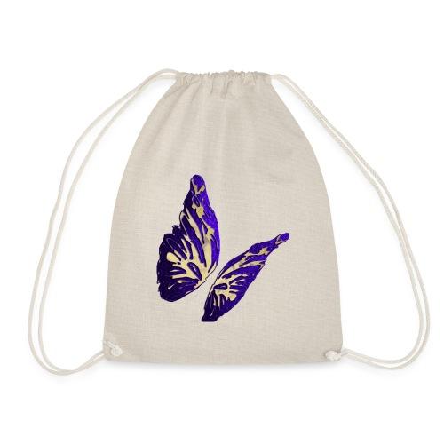 Golden Butterfly 2 - incantevole farfalla colorata - Sacca sportiva