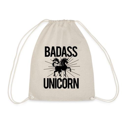 Badass Unicorn - Drawstring Bag