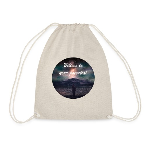 Believe in Your Potential - Drawstring Bag