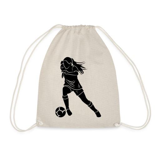 Footballeuse - Sac de sport léger