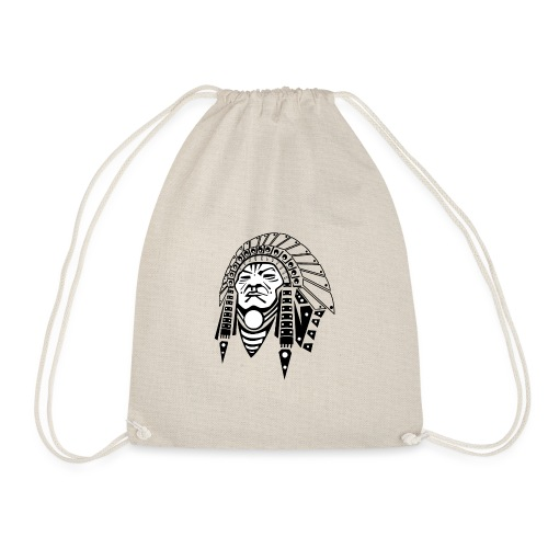 Kamisachief logo - Drawstring Bag