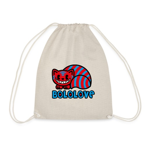 Bololove Cat Red - Sacca sportiva