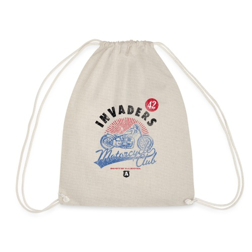DownloadT-ShirtDesigns-com-2121724 Invaders - Drawstring Bag