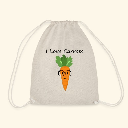 Love Carrots - Mochila saco