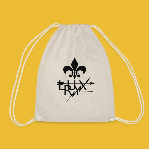 Luxry (Black) - Drawstring Bag