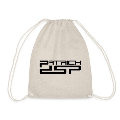 Patrick DSP Black Logo - Drawstring Bag