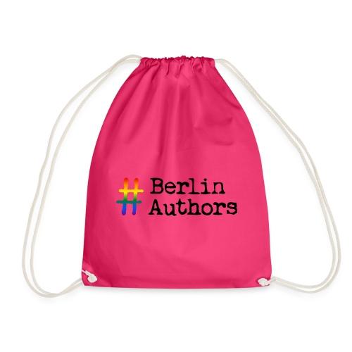 BerlinAuthors Logo Rainbow - Turnbeutel
