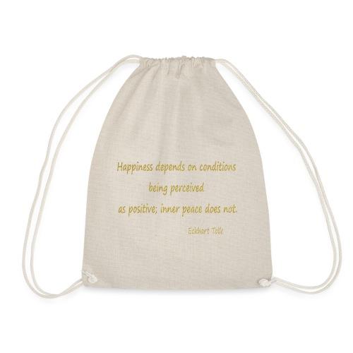 Happiness - Drawstring Bag