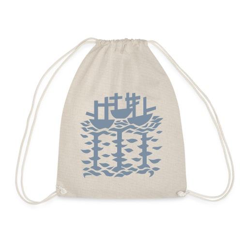 3shipsLogo SallyRoydhouse - Drawstring Bag