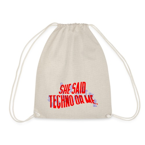 Sometimes I miss her - Drawstring Bag