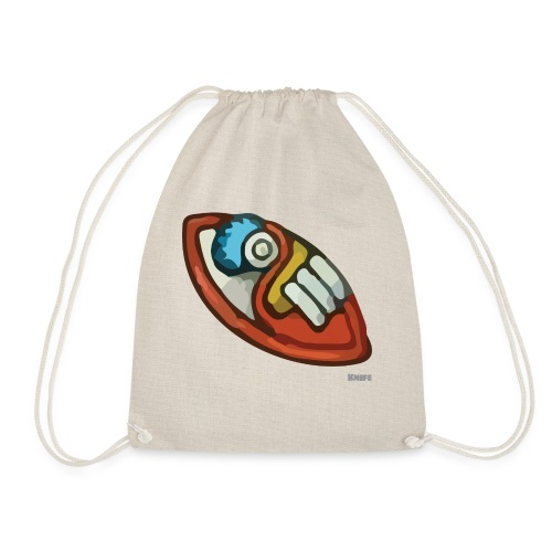 Aztec Flint Knife - Drawstring Bag