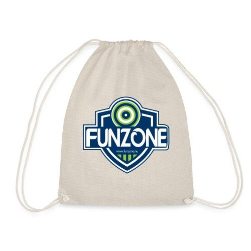 Funzone_logo_ljus_bakgrund - Gymnastikpåse