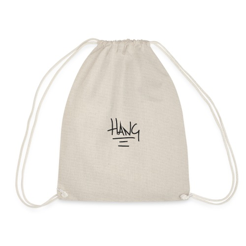hang copy - Drawstring Bag