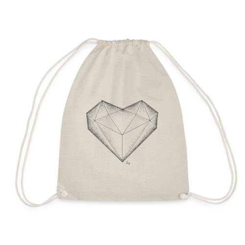 Herz Diamant - Turnbeutel