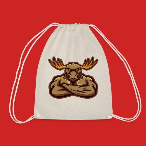 Ace Original Moose Mascot - Drawstring Bag