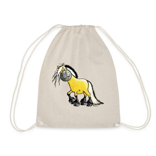fjord_horse - Drawstring Bag