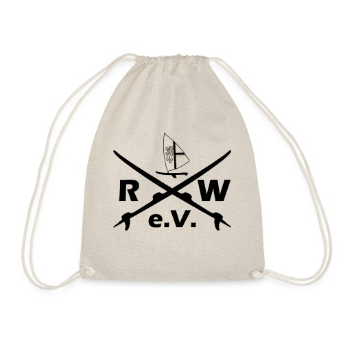 RWeV cross bw - Turnbeutel