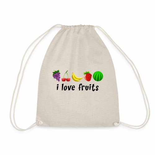I love fruits - Turnbeutel