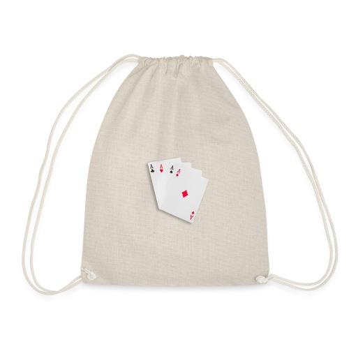 Poker cards - Sacca sportiva